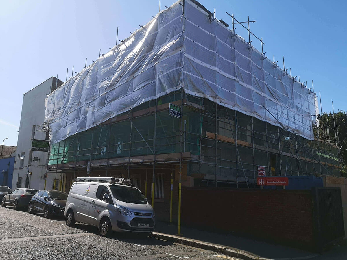Scaffolding services Essex