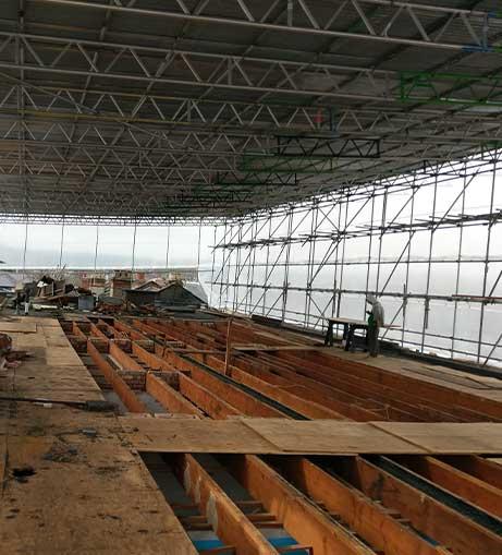 scaffold hire London