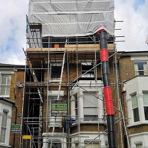 scaffolding London
