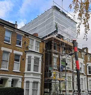 residential scaffolding Essex